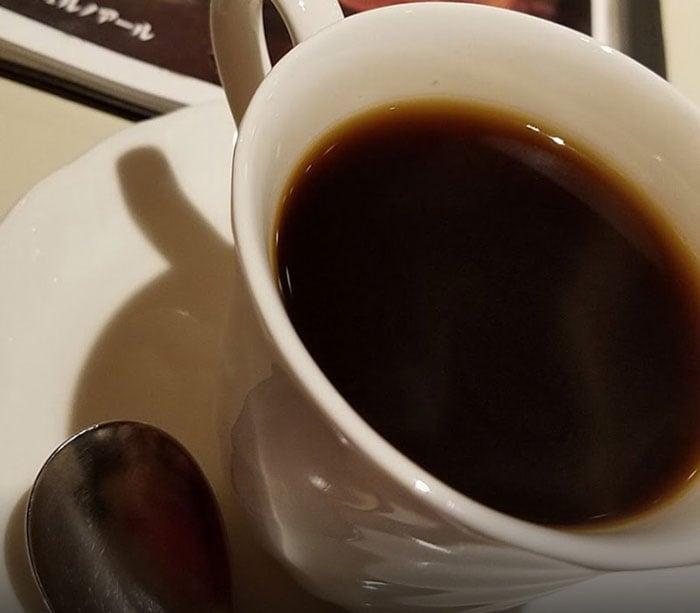 ルノアールのホットコーヒー